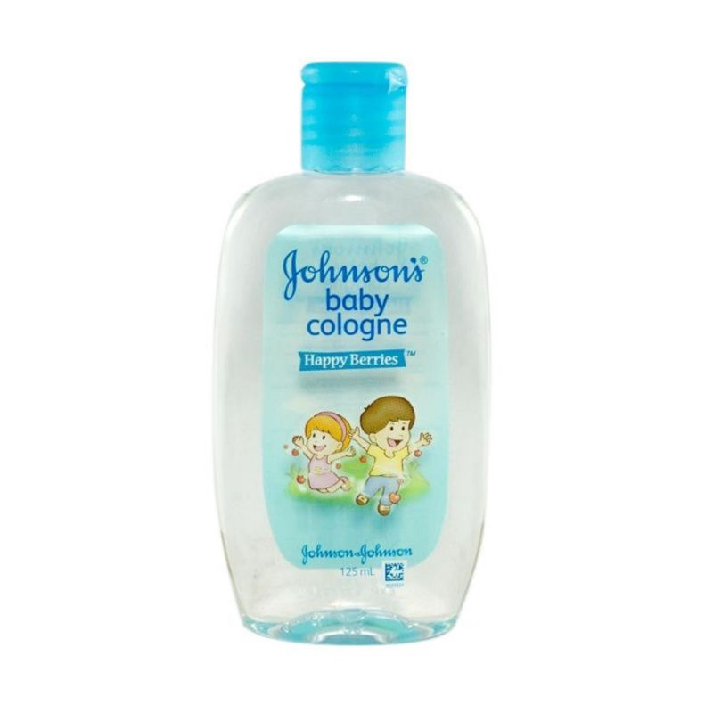 JOHNSON COLOGNE 125ML HAPPYBERRIES-ISI 1 PCS